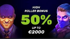 Casino Boni für High Roller.