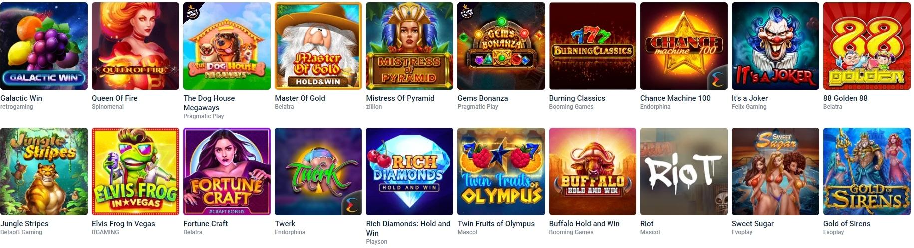Slots in Online Casinos Zahlungsmethoden