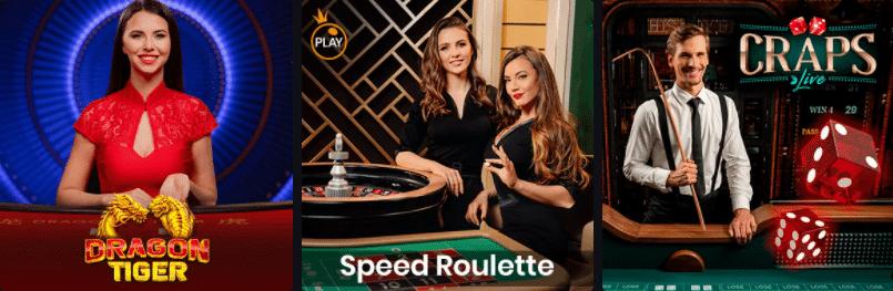 Online Casino mit Echtgeld Live Dealer